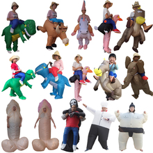 Halloween costume cosplay Inflatable Willy Adult costumes Fancy Dress Dinosaur Unicorn Cowboy anime suit disfraces adults