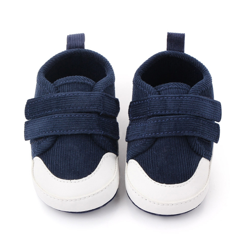 Baby Boys Shoes Breathable Anti-Slip First Walkers Toddler Soft Soled Solid Color Boy Shoes Walking Sneakers 0-1Y
