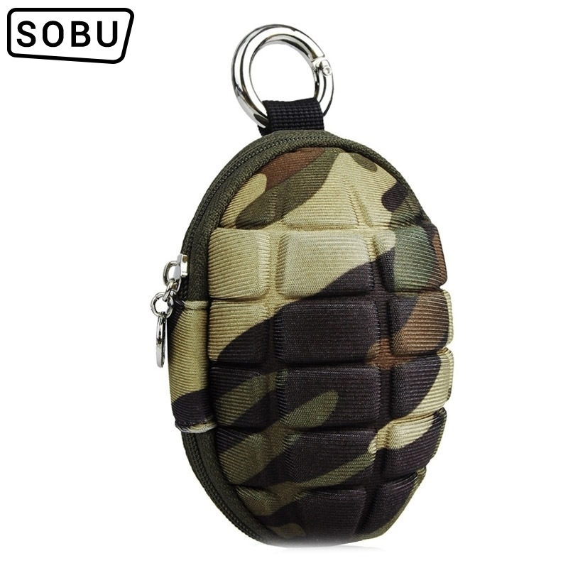 New PU Key Holder Wallets Unisex Oval Headphone Case Bag Housekeeper For Keys Organizer Purse For Car Key Bag J110
