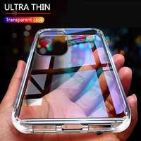 Funda transparente ultrafina para teléfono móvil, carcasa suave para Google Pixel 5a 5 XL 4 4a 5G 3a 3 2