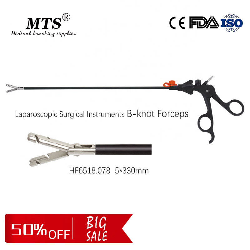 Medical B-Type-knot Forceps Laparoscopic Surgical Instruments Teaching Endoscopic Surgery Device