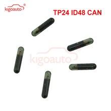 цена на Kigoauto Transponder key ID48 CAN chip TP24 glass chip suitable for Skoda ID 48 chip