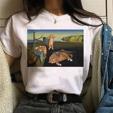 Эстетическая harajuku футболка винтажная kawaii размера плюс