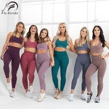 Women Yoga Set Seamless Sportswear Fitness Leggings Gym Clothing Sport Bra High Waist Training Pants Best-Selling Yoga Suit