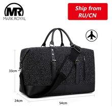 MARKROYAL, сумка для отдыха и путешествий, ткань Оксфорд, искусственная кожа, деловые сумки, унисекс, сумка для переноски багажа, сумка-тоут, сумки на ночь