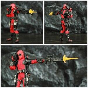 """Image 4 - One:12 Deadpool 6 """"Action Figure vestiti abito di stoffa Dead Pool Legends Dog 1/12 1:12 Comic Movie Toys modello di bambola"""