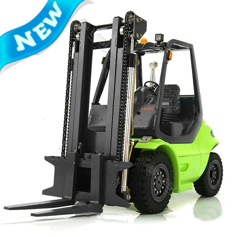 1/14 Hydraulic Engineering Forklift Model Remote Control Simulation Of Children's Birthday Present