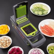5 в 1 еда овощи салат инструмент для нарезания фруктов слайсер измельчитель Терка устройство для резки картофеля овощерезка кухонные инструменты