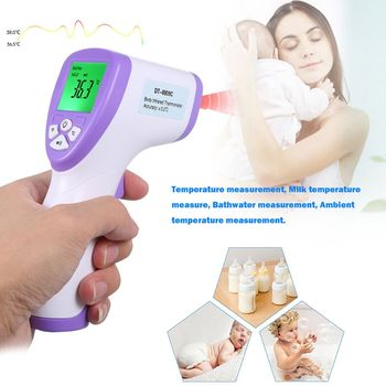 Non-contact Digital Infrared Thermometer Gun Portable Handheld IR LCD Display 2 Color Backlight Temperature Meter ℃/℉ цена 2017