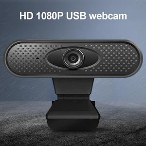 1080P USB HD камера компьютер ПК мини драйвер веб-камера Встроенный стерео микрофон для прямой трансляции видео конференции работы