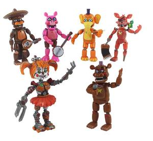 Image 3 - Figuras de acción de FNAF, Bonnie Foxy, Fazbear, muñecos de juguete para niños, cinco noches en freddys, 17 unidades