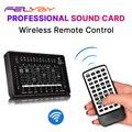 FELYBY Professionele Geluidskaart Voor bm 800 Studio Microfoon Audio Interface Webcast Opname Entertainment Streamer Geluidskaart