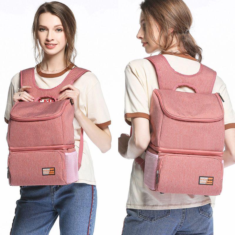 Baby Travel Pack Large Capacity Mummy Backpack Waterproof Oxford Breast Pump Bag