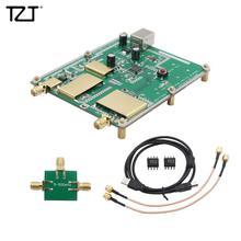 TZT Einfache RF Spectrum Analyzer Tracking Generator 33 MHz 4400 MHz D6 V2.03B ADF4351 VFO Quelle