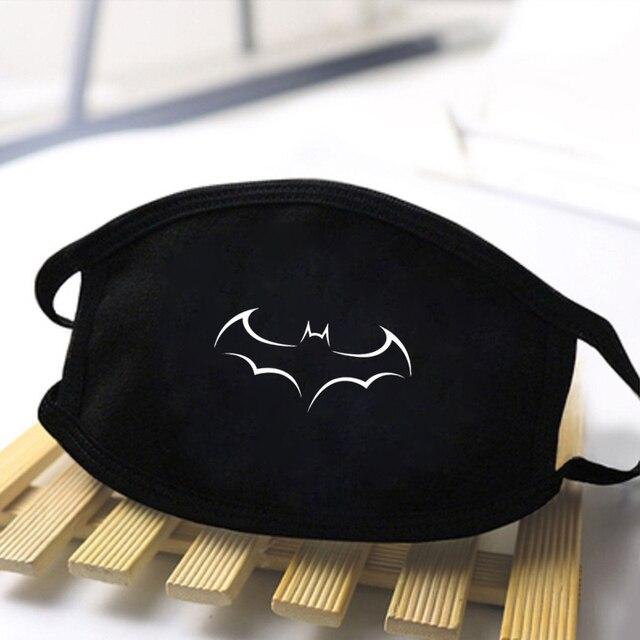 2020 Marvel Deadpool Print Dustproof Masks Unisex High Quality Face Mask Streetwear Reusable Mouth Muffle Skin friendly Mask 2