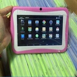 7 Inch kinder Tablet Android Dual Kamera Pädagogisches Spiel Geschenk Kinder Musik Student pc lernen maschine tablet infantil
