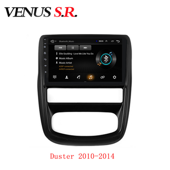 VenusSR Android 9.1 Car DVD Player GPS Navigation Multimedia For Renault Duster Radio 2010-2019 headunit car stereo image