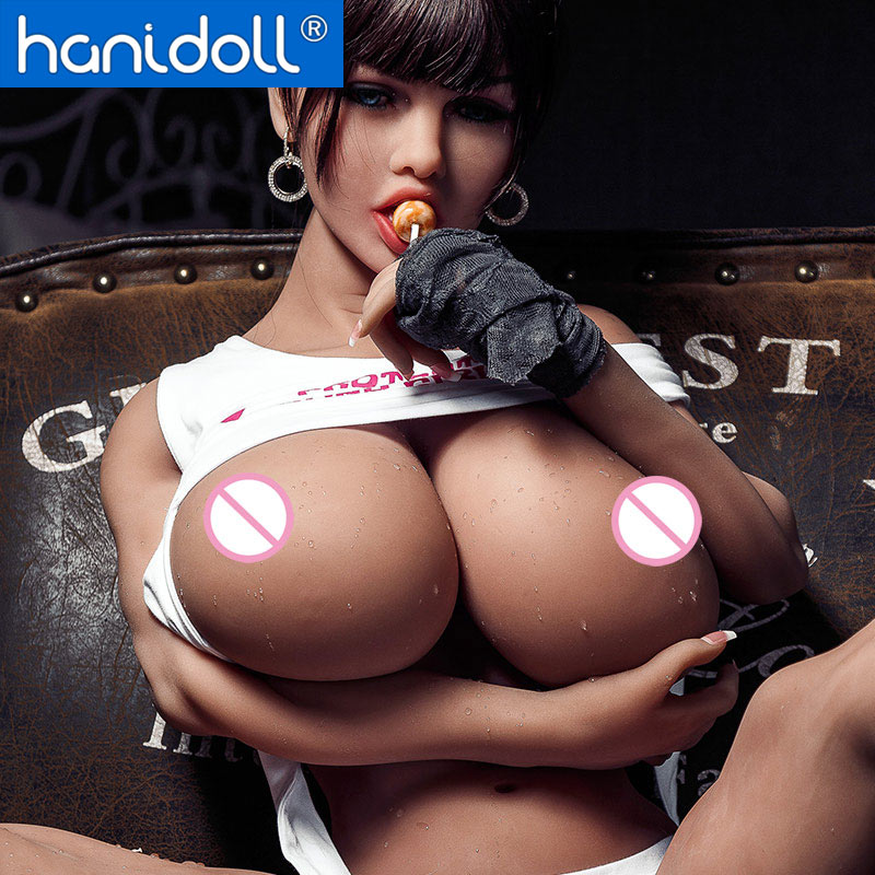 Hanidoll Silicone Sex Dolls 150cm TPE Sex Doll Realistic Big Boobs Real Love Doll Adult Sexy Muscle Black Sex Doll Toys For Men