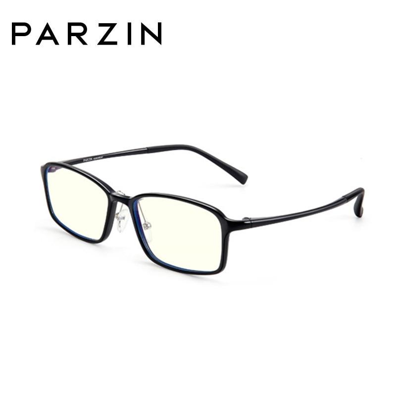 PARZIN Anti bleu lumière verre hommes lecture lunettes lunettes de protection lunettes lunettes de jeu ordinateur lunettes pour Wome 15752