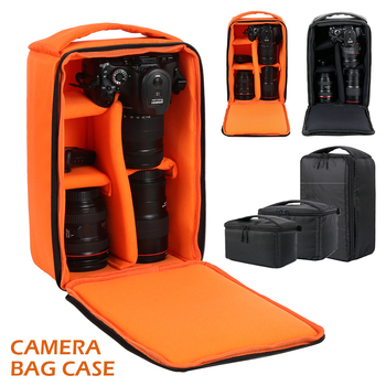 цена на DSLR Camera Bag Multi-functional Waterproof Outdoor Video Digital Carry Photo Bag Case for Camera Nikon Canon DSLR