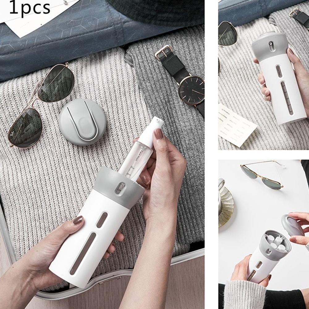 Traveling In A Four for one Environment Travel Sub bottle Set Lotion Cosmetic Rotary Extrusion Portable Sub bottle in Portable Soap Dispensers from Home Garden