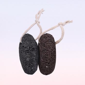 2 sztuk naturalny pumeks z lawy wulkanicznej skrobaczka do pięt złuszczanie aby usunąć martwa skóra dla stóp obcasy i dłoni (losowy kolor) tanie i dobre opinie Other CN (pochodzenie)