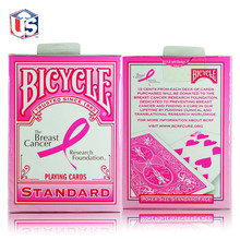 Bicycle Pink Ribbon Playing Cards Bicycle Collectable Deck Poker Size USPCC Limited Edition Deck Magic Cards Magic Tricks Props цена 2017
