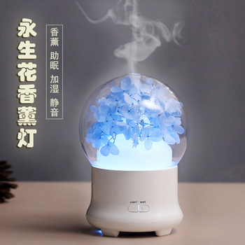 Electric Incense Burner Portable Night Light Ultrasonic Air Humidifier Mute Bedroom Aroma Lamp Wierook Home Decoration MM60XXL