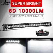 Lamp Work-Light Off-Road led Super-Slim Beam SUV 4X4 30W Combo for 7-20--Inch 90w-Spot-Flood-Combo