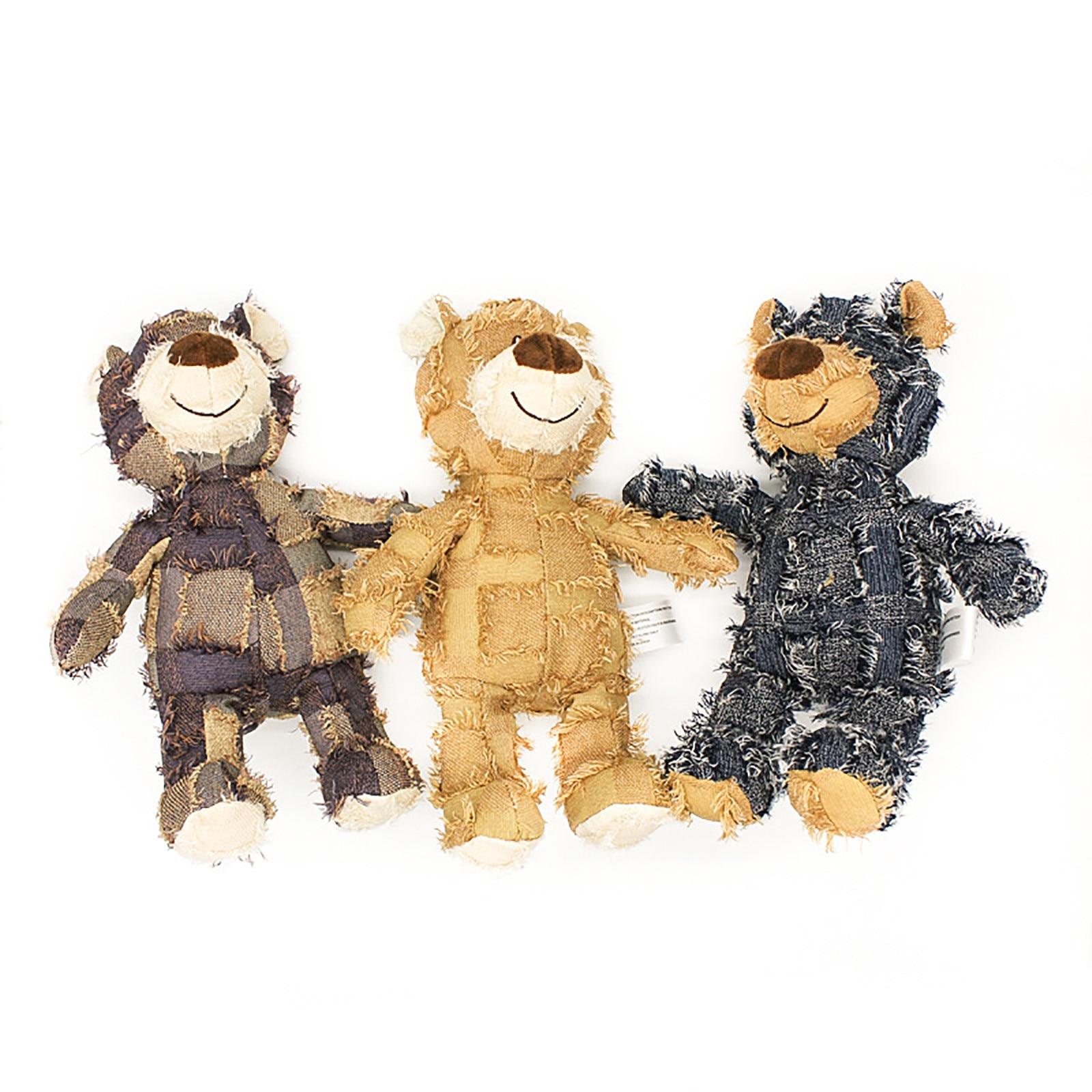 Oyuncaklar çocuklar için noel bebek peluş Euramerican tarzı ses olacak benzersiz dilenci hayvan ayı üç renk isteğe bağlı oyuncaklar kızlar için