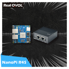 Friendly lyelec NanoPi R4S 1GB/4GB Dual Gbps gateway Ethernet supporto OpenWrt LEDE System Linux Rockchip RK3399 riconoscimento facciale