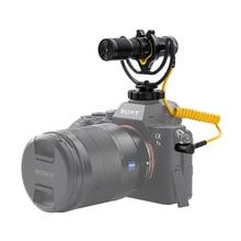 Deity Mini micrófono Dual para entrevista, grabadora de voz, Entrada auxiliar para lavalier, Vlog, DSLR, v mic D4 Duo