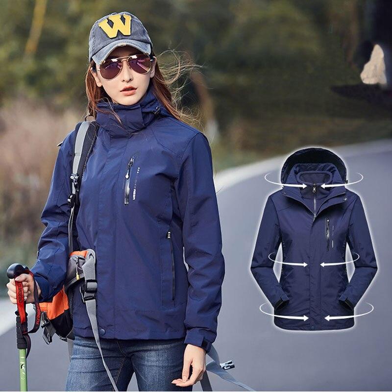 2019 New Women Ski Jackets Waterproof Windproof Thicken Warm  Fleece Snow Jacket Female Winter Outdoor Skiing Snowboard Jackets