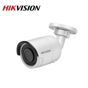 Image 3 - Hikvision Original IP Camera Security HD 4MP DS 2CD2045FWD I Night Vision IR30M Bullet PoE Surveillance Web Cam H.265 Card Slot