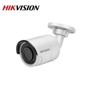 Image 3 - Hikvision Original IP กล้องความปลอดภัย HD 4MP DS 2CD2045FWD I Night Vision IR30M Bullet POE กล้องวงจรปิด Web CAM H.265 การ์ด