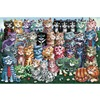 Original Pet Jigsaw Puzzle Cat Family 500 1000  2000 Piece Oversized Wooden Jigsaw Puzzle Educational Toy Adult Holiday Gift