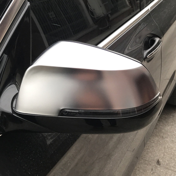 For BMW 1 2 3 4 series F20 F30 F31 F21 F22 F23 F32 F33 F34 F35 X1 E84 Matt Chrome Mirror Cover Rearview Side Mirror Cap