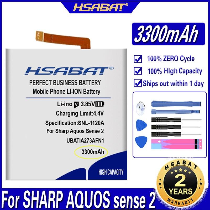 Аккумулятор HSABAT UBATIA273AFN1 3300 мАч для Sharp Aquos Sense2 Sense 2 мобильный телефон