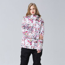 Winter Ski Suit Women Brands High Quality Ski Jacket and Pants for Women Warm Waterproof Windproof Skiing and Snowboarding Suits(China)