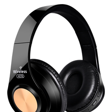 Wireless Colorful Headphones Bluetooth Headset Foldable Adjustable Setero Earphones With