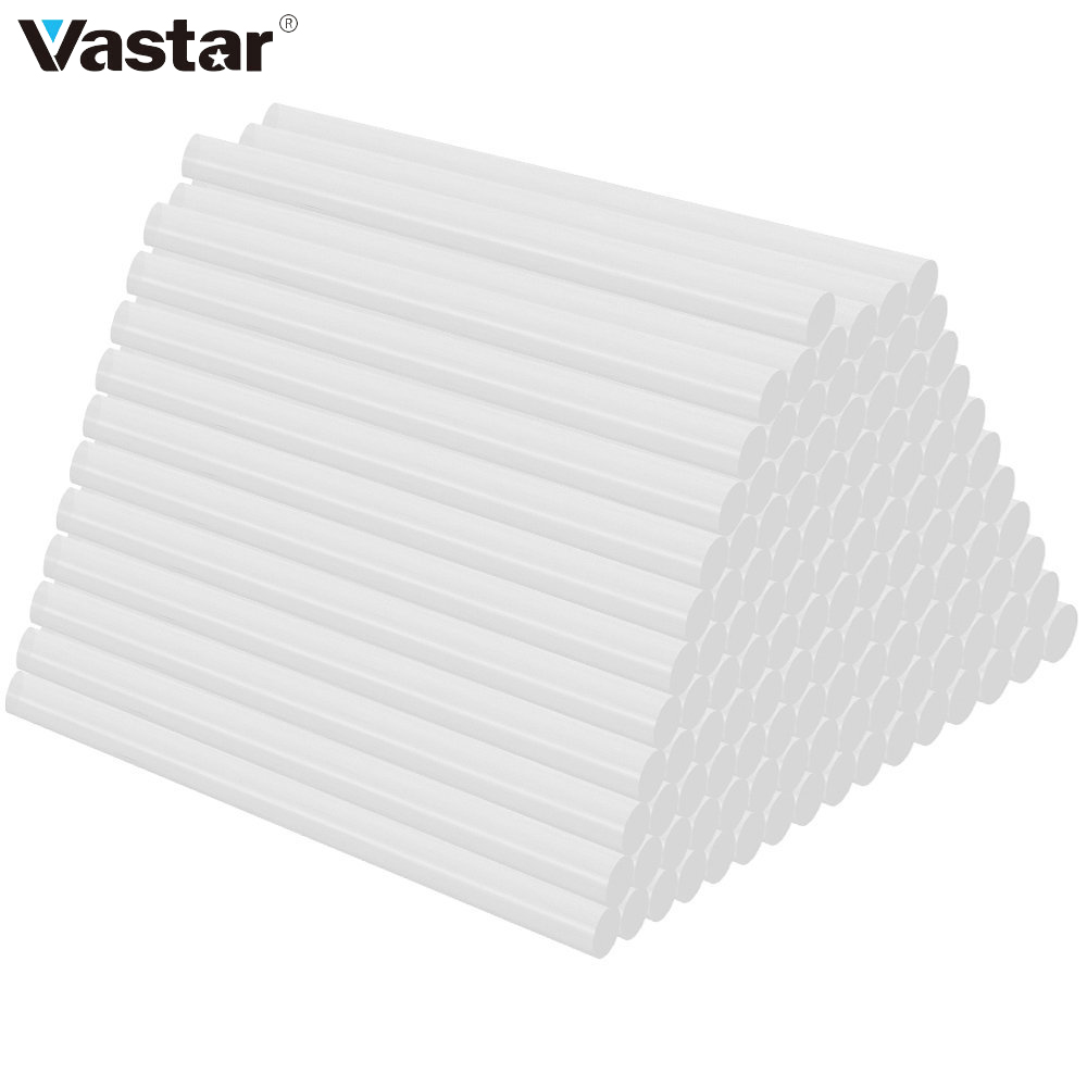 Vastar 120pcs/lot Hot Melt Glue Stick 7mm For Heat Pistol Glue High Viscosity Glue Glue Repair Tool Kit
