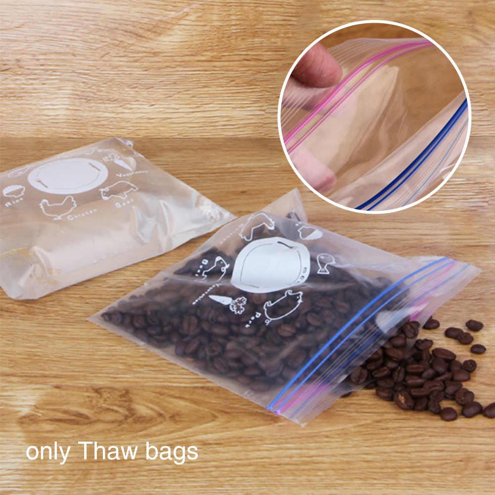 Unfreeze Fresh Pouch Холодильный замок на молнии для хранения лекарств без запаха водонепроницаемый герметичный мешок жаростойкий двусторонний дозатор для соуса с закрывающимися крышками