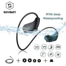 Music Headset Mp3-Player Walkman Running-Earphones Diving Ipx8 Waterproof Swimming Sport
