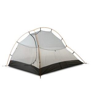 Image 4 - 3F UL GETRIEBE ZhengTu 2 Person Ultraleicht Zelt Einzigen 15D Nylon 3 oder 4 Jahreszeiten Im Freien wasserdichte winddicht Camping Zelt