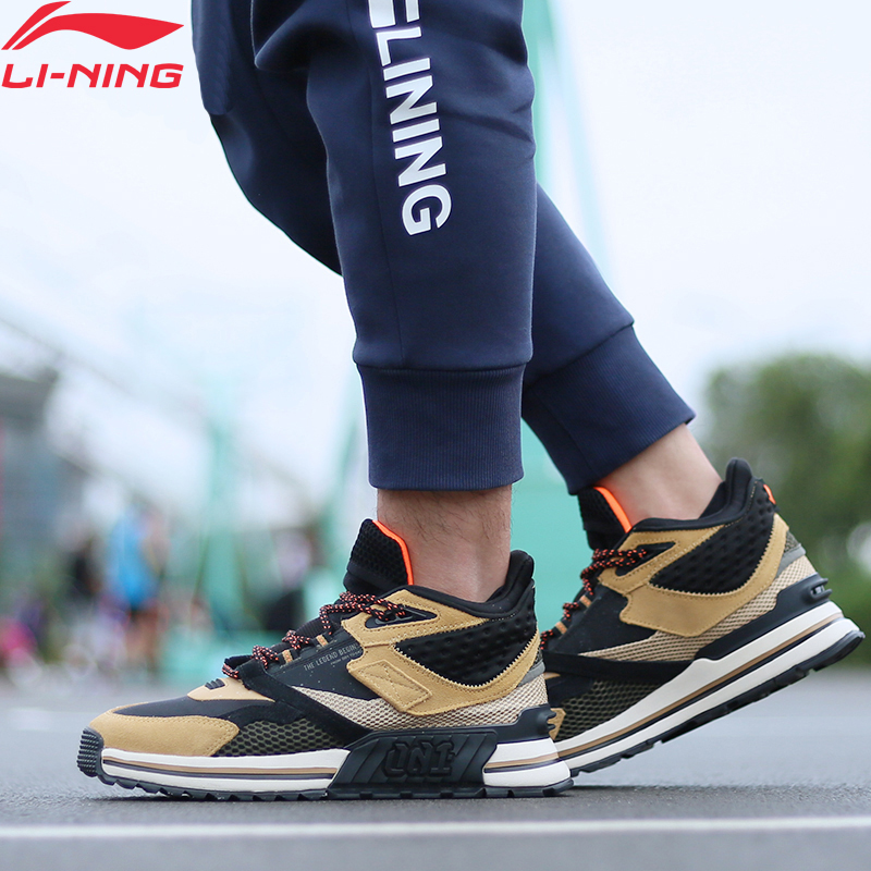 Li-Ning Men 001 T1000 WINTER Stylish Lifestyle Shoes Retro LiNing Li Ning Support Sport Shoes Wearable Sneakers AGLP079 YXB331
