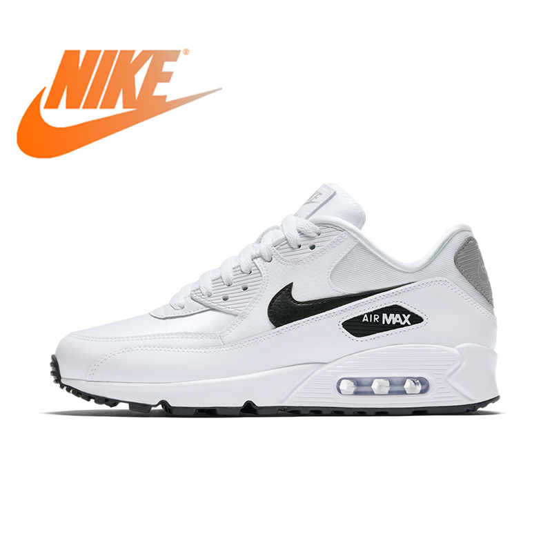 Original Authentic NIKE AIR MAX 90 ESSENTIAL Women's Running Shoes Outdoor Sneakers Comfortable New Color Matching 325213-137