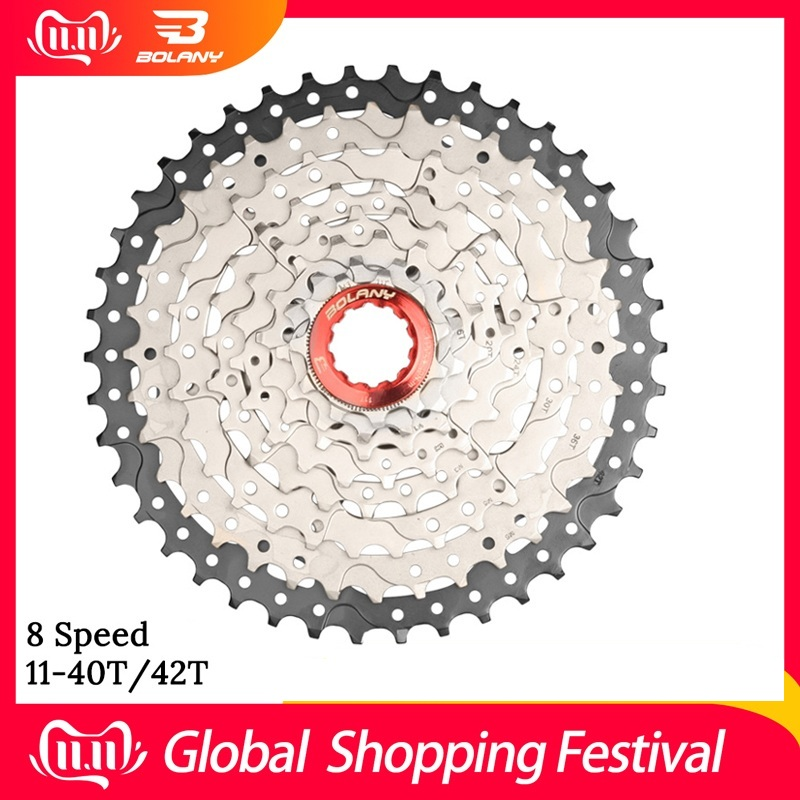 MTB 8 Speed Bike Freewheel 11-40T 42T Mountain Bicycle Cassette Tool Spare Parts For Bicycles Compatible For M410 Sram X4 image