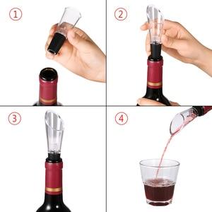 Image 5 - Air Pressure Wine Bottle Opener Air Pump Vacuum Red Wine Stopper Cork Out Tool Stainless Steel Pin Kitchen Bar Beer Lid Opening