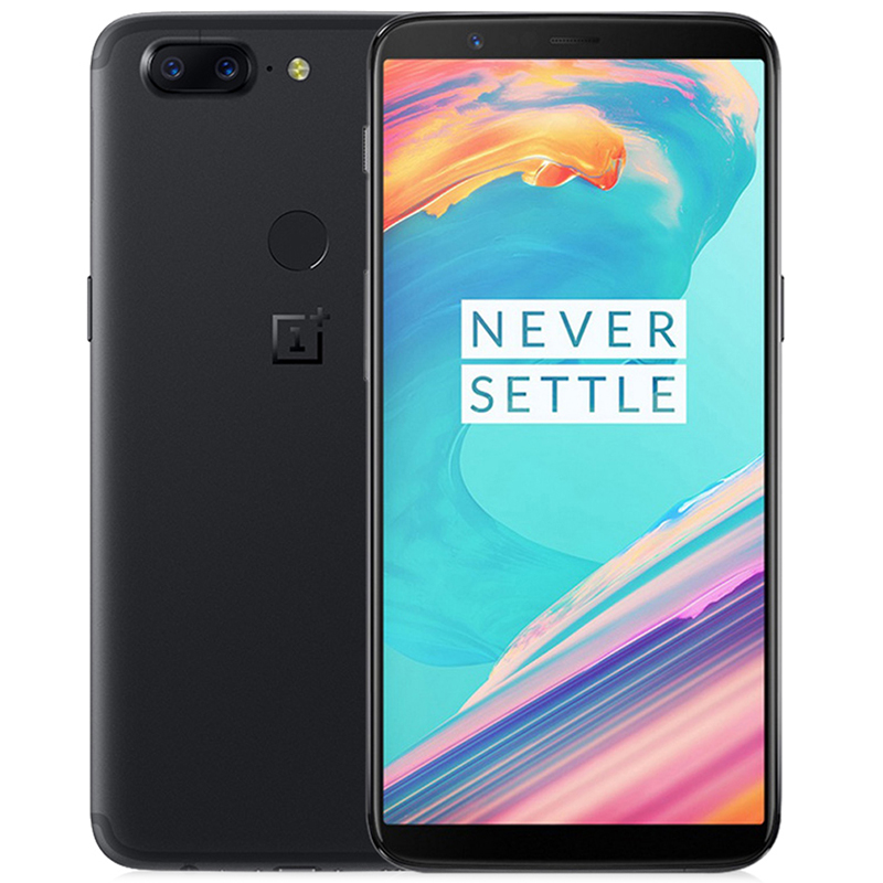 OnePlus 5T 4G Smartphone 6.01 inch Snapdragon 835 Octa Core 2.45GHz 8GB RAM 128GB ROM 20.0MP Dual Rear Cameras Mobile Phone