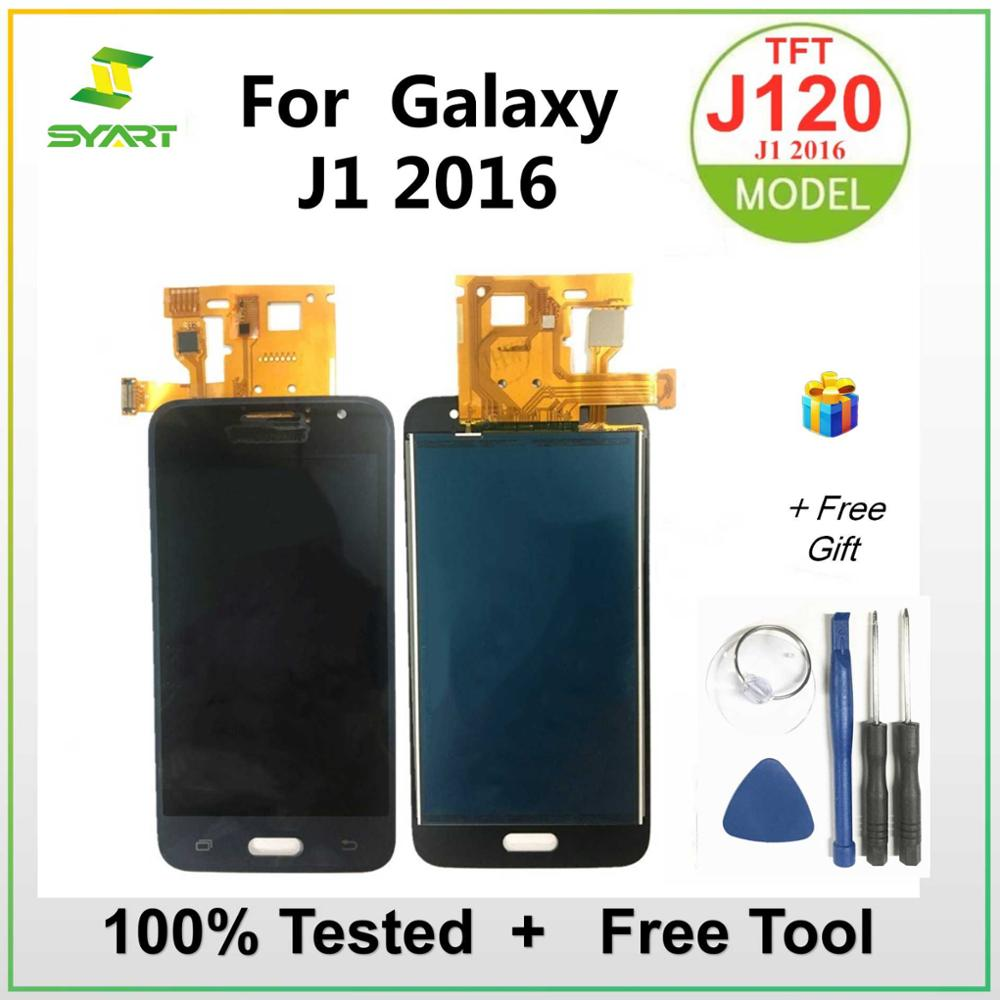Can adjust brightness LCD For Samsung Galaxy J1 2016 J120